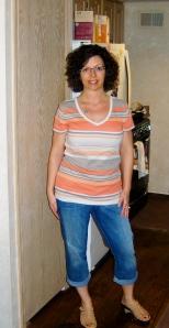 May 2013 - after losing 27 lbs.