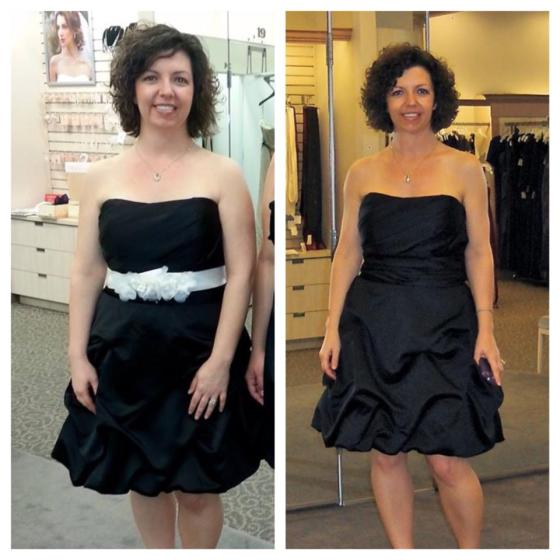 Before& After Nov. 2012 at 145 lbs., vs. June 2013 at 122 lbs.