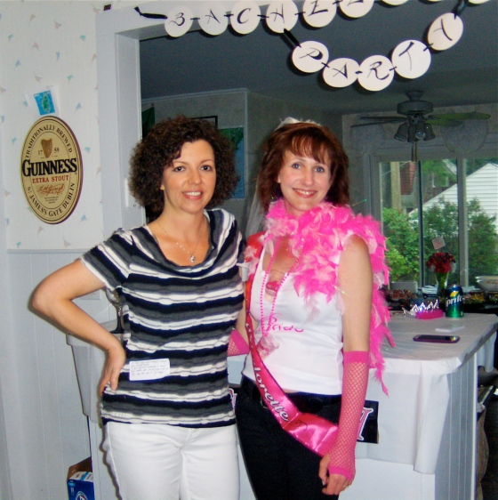 Terri& I at her bachelorette party, June 2013