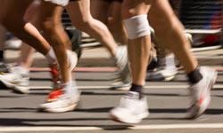 running leg