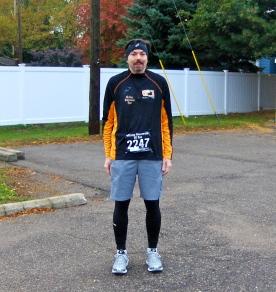 Jim before the Wicked Halloween Run