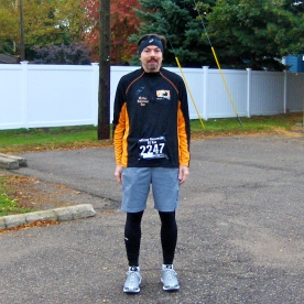 Jim before the Wicked Halloween Run